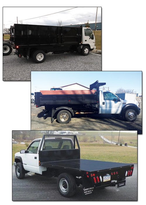 SH truck bodies, east penn commercial, east penn truck equipment