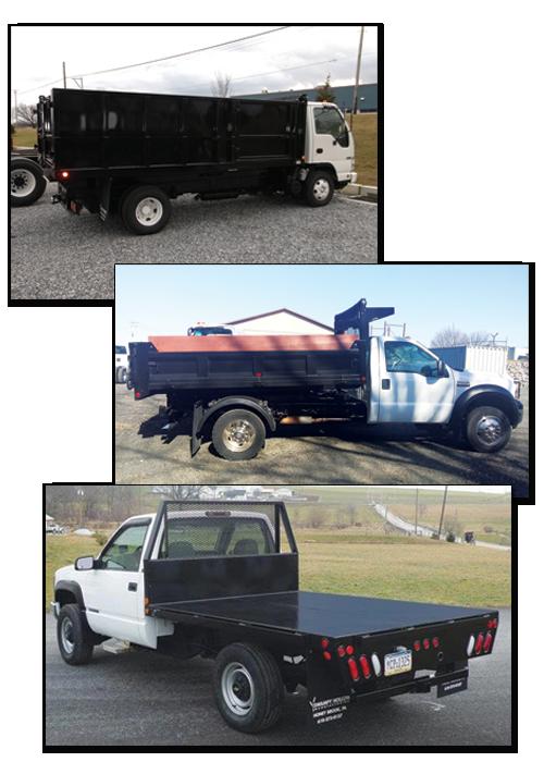 SH truck bodies, east penn commercial, east penn truck equipment