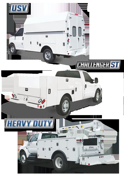 stahl truck bodies, east penn commercial, east penn truck bodies