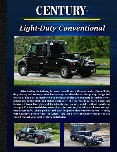 CENTURY LIGHT DUTY CONVENTIONAL