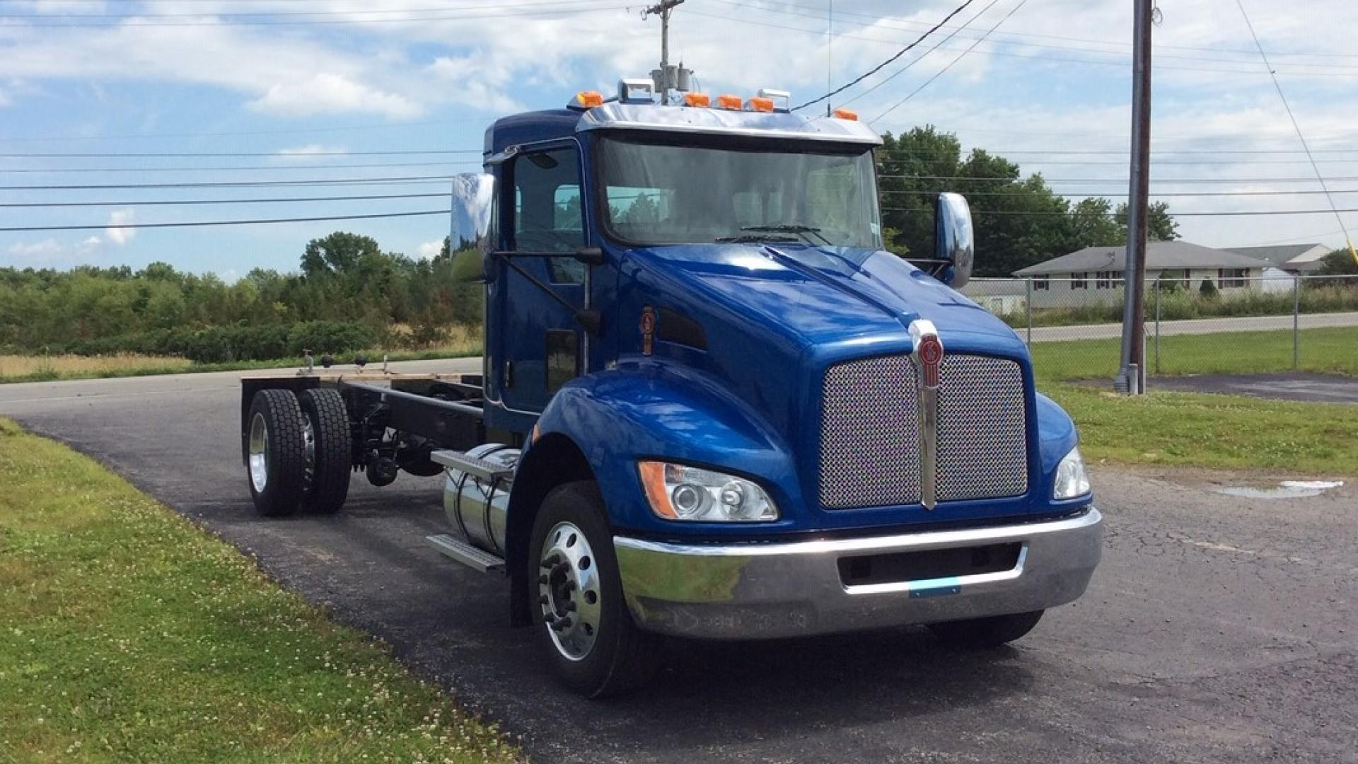 east penn truck equipment, chassis inventory, 2020 kenworth, t270, chevron lcg